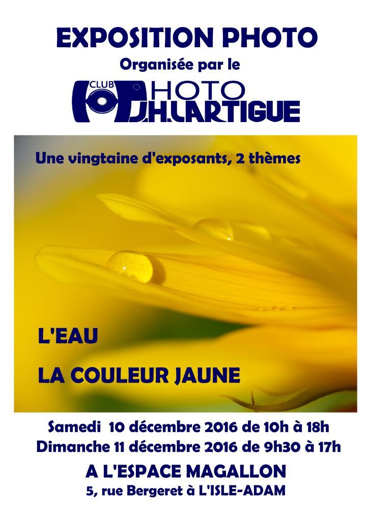 Expo J.h Lartigue de l'Isle Adam 2016
