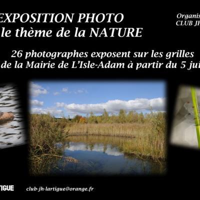 Exposition Grille de  Mairie de l'Isle Adam , Avec le Club JH Lartigue, Juin 2021