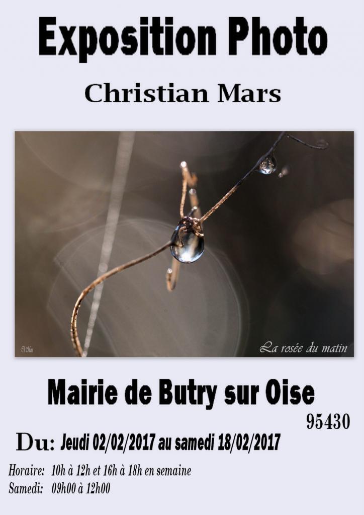 Expo Mairie de Butry du 02.02.2017 au 18.02.2017
