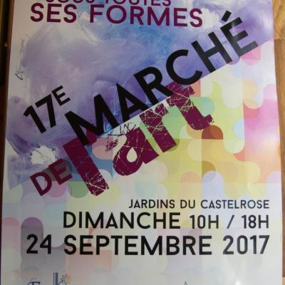 17é marché de l'Art; Isle Adam 95430 24/sept 2017