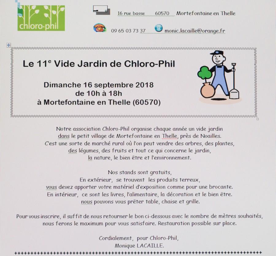 Vide jardin de Chloro-Phil Mortefontaine en Thelle (60570) 16 septembre 2018