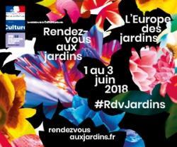 Rendez-vous des jardins 02 et 03 juin 2018 VALMONDOIS 95